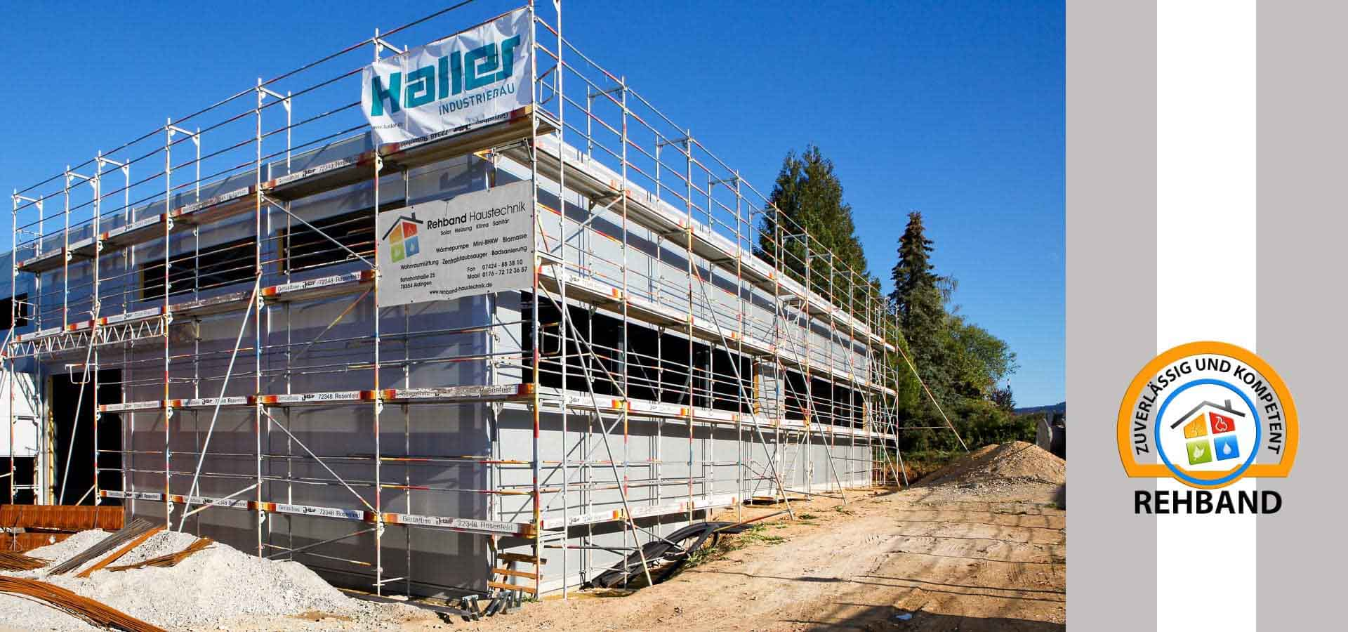 Neuinstallation in Aldingen